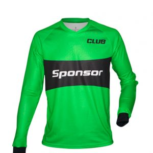 LS JERSEY SOCCER V-COLLAR GOALKEEPER MEN reinforced