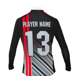 LS JERSEY SOCCER FIT ROUND COLLAR KIDS