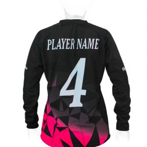 LS JERSEY HANDBALL WOMEN ROUND COLLAR