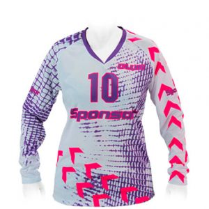 LS JERSEY HANDBALL WOMEN V-COLLAR