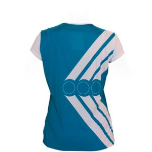 SS JERSEY TENNIS DEEP NECK  WOMEN