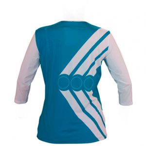 ¾ JERSEY TENNIS DEEP NECK WOMEN